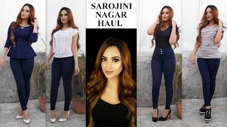 *HUGE* SAROJINI NAGAR Try-On Fashion Haul | Aishwarya Kaushal