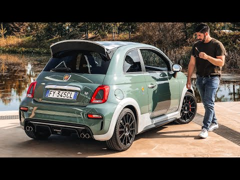 2020 Abarth 695 70th Anniversario! First Drive Review!