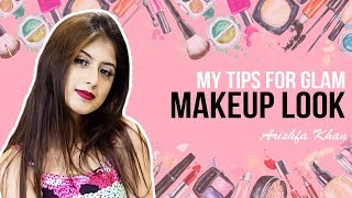 My Tips for Glam Makeup Look💕