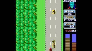 Arcade Game: Road Fighter (1984 Konami)