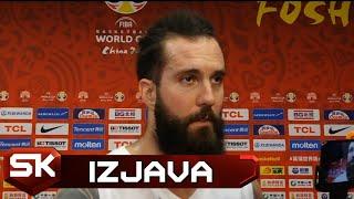 Miroslav Raduljica posle pobede nad Filipinima u 2. kolu Svetskog prvenstva   SPORT KLUB KOŠARKA