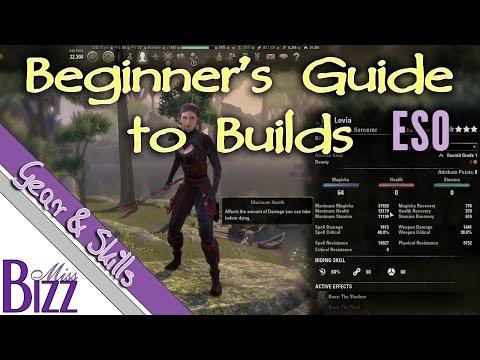 Elder Scrolls Online Stats Guide