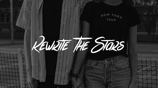 James Arthur, Anne-Marie - Rewrite The Stars (Lyrics) Video