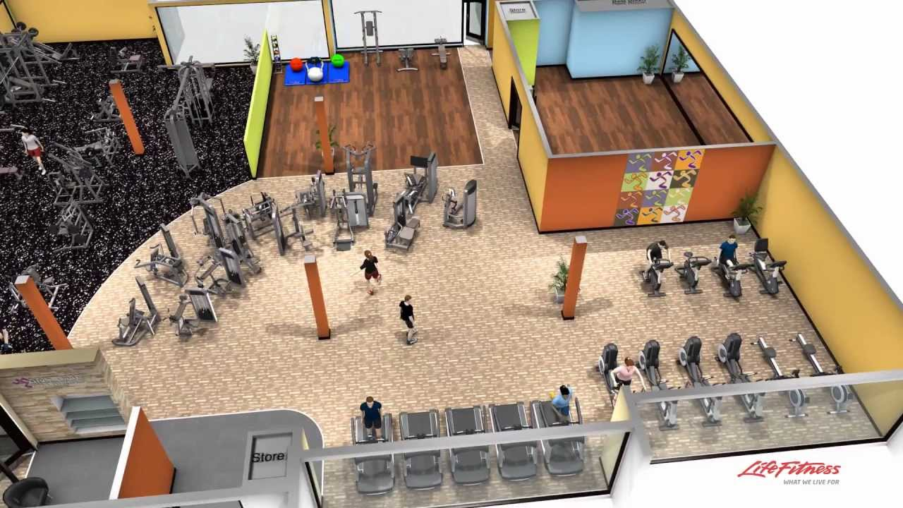 Anytime Fitness Nambour 3D Walk Thru YouTube