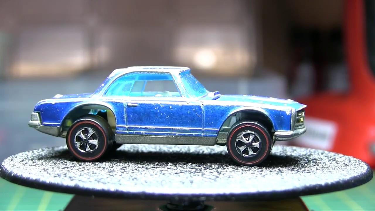 Hot wheels redline restoration how to 69 mercedes benz for Hot wheels mercedes benz