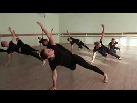 Экзамен по современному танцу. 1 курс. КХК Кияночка. Хореографический колледж