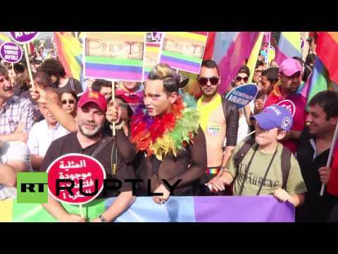 Turkey: Istanbuls gay pride shows diversity in the face of conservatism