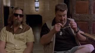 """Сцена из """"Большой Лебовски""""  - """"хоть мы скорбящие - мы не лохи"""""""