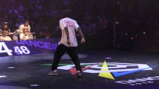 MAMSON(Sereal Stepperz) vs SHUHO(TOKYO FOOTWORKZ) FINAL HOUSE / DANCE@LIVE 2016 FINAL