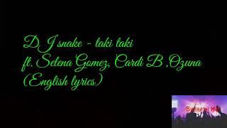 Taki - english lyrics | translation version.