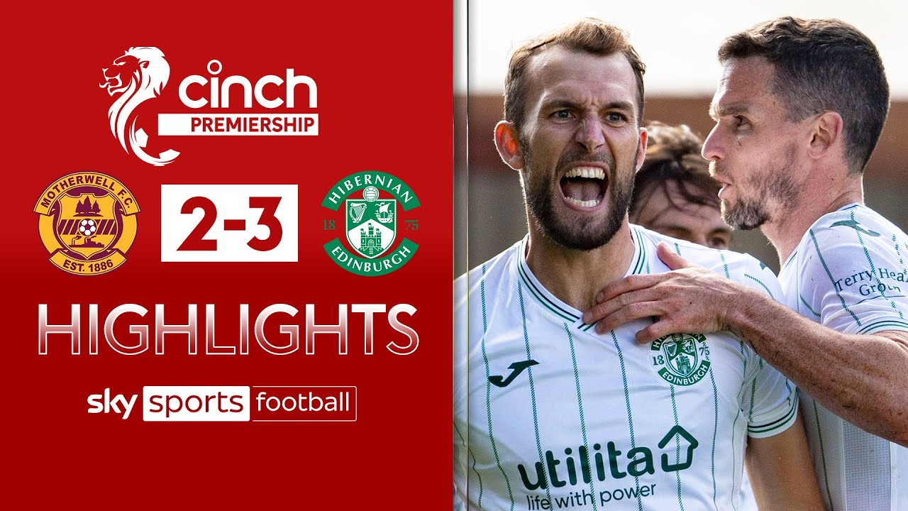 Hibs fight back twice to win five-goal thriller! | Motherwell 2-3 Hibernian | SPFL Highlights