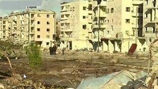 В Алеппо боевики сбили самолет сирийских ВВС и нанесли удар по кварталам города