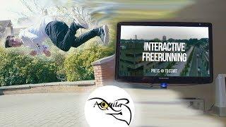 Interactive Free-Running Game!