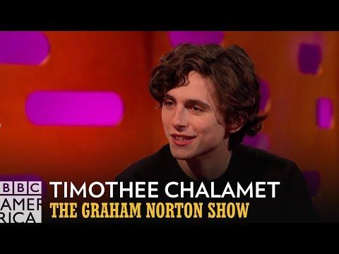 Timothée Chalamet's Secret Rap Video | The Graham Norton Show | BBC America