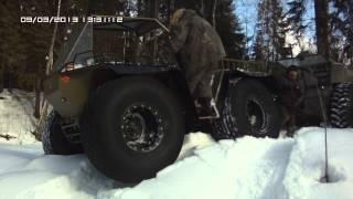 Зимний вездеходный поход 2013