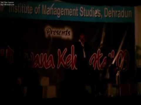 Kumar vishwas @ IMS, Dehradun 2.mp4