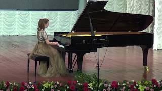 Anastasia Makhamendrikova -Mozart-Sonata C Major, KV 330- 1st part