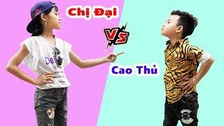 Chị Đại Gặp Cao Thủ - Giải Trí Cho Bé ♥ Min Min TV Minh Khoa