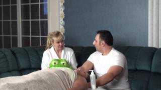 Playing With Love~  Heartbeats webisode massage scene