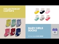 Baby Girls Socks Collection By Carter's