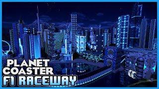 F1 RACEWAY! Sci-fi City! Coaster Spotlight 273 #PlanetCoaster