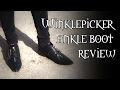 Gothic Shoe Company | Winklepicker Ankle Boot Review | Macabre Wilhelm