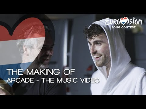 The Making Of 'Arcade' - The Music Video | TeamDuncan