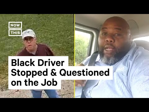 Black Delivery Driver