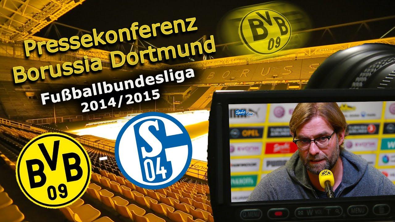 Borussia Dortmund - FC Schalke 04 : BVB-Pressekonferenz vor dem 146. Revierderby