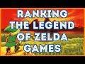 The Legend of Zelda Games Ranked