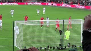 England vs Switzerland ( Rooney's record breaking 50th goal )
