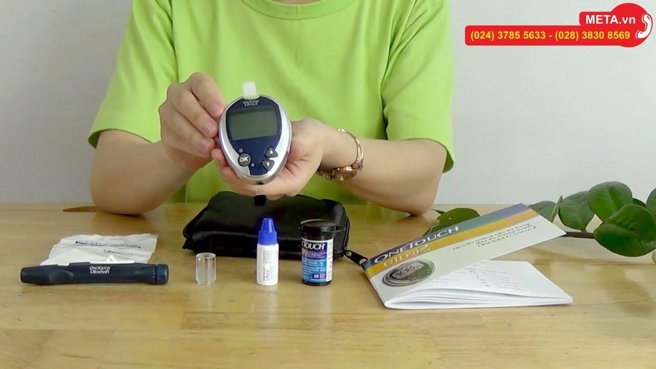 Hướng dẫn cài đặt và cách sử dụng máy đo đường huyết OneTouch Ultra 2