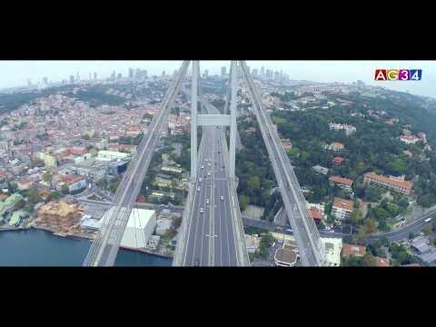 Boğaz Köprüsü Havadan Çekimi