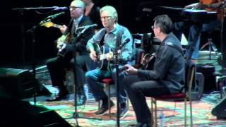 Eric Clapton & Friends - Lay Down Sally - 4/12/13 - Crossroads MSG