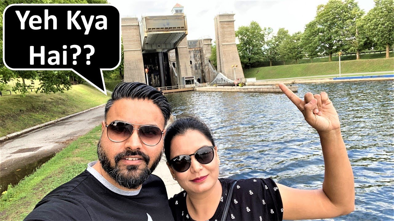 Our Boat Went 60 Feet Above Ground 😱| Peterborough Vlog | Canada Couple Vlogs