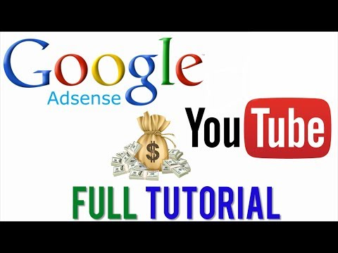 How To Set Up Google Adsense Account For Youtube 2017 - Step By Step