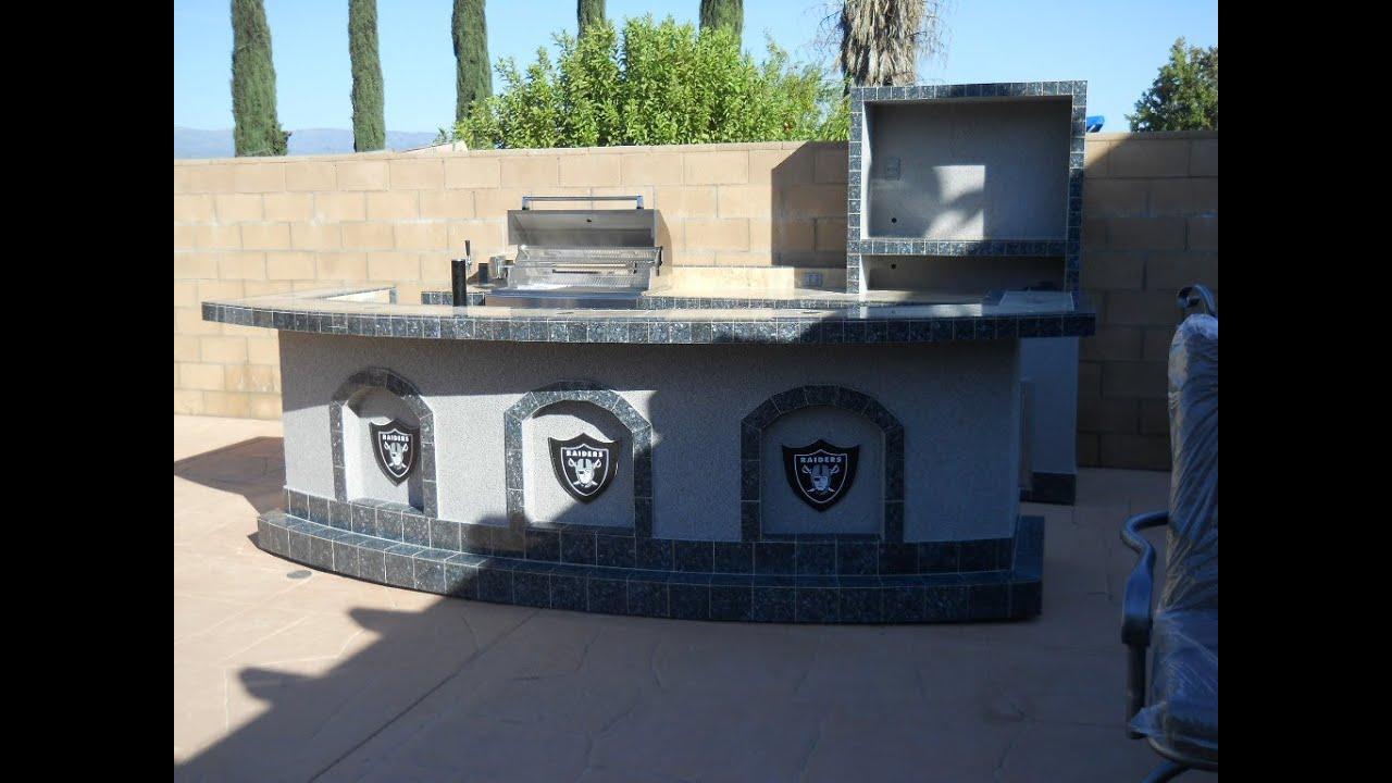 Extreme Backyard Designs - BBQ Islands - BBQ Grills ... on Backyard Patio Grill Island id=11729
