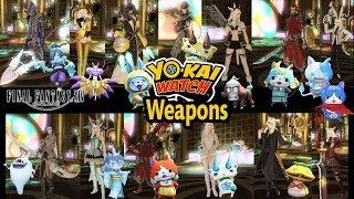 FFXIV: All Yokai Weapons!
