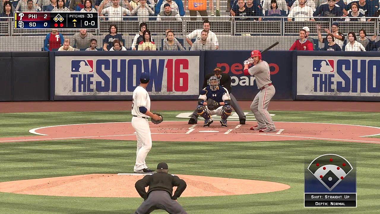 Phillies Baseball 2016 Mlb The Show 16 San Diego