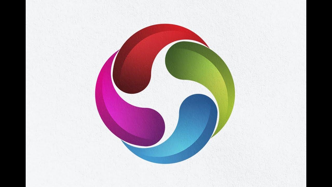 Illustrator tutorial create a 3d logo design from 2d for 2d design online free