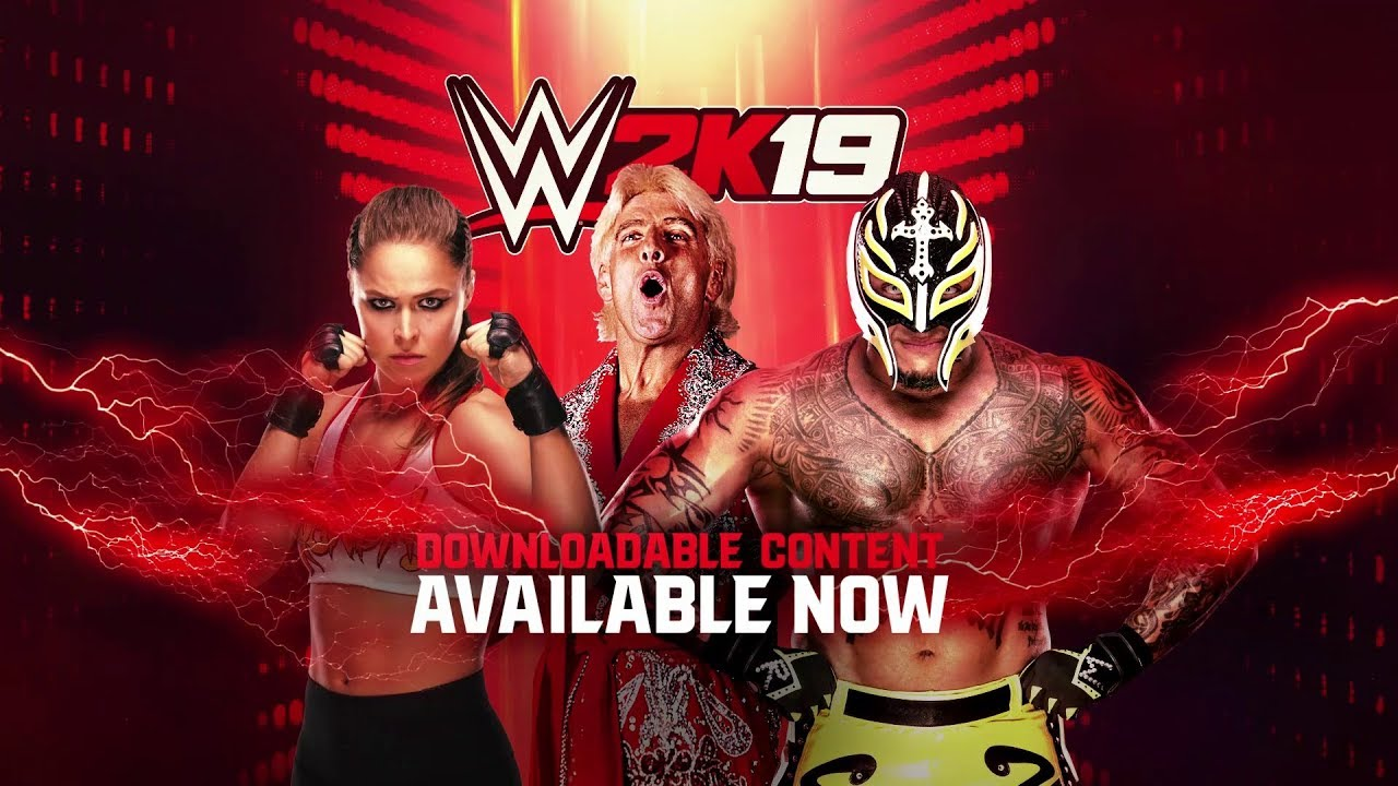 Lucha Libre Youtube Wwe 2k19 Ronda Rousey Rey Mysterio And Ric Flair Dlc Available Now