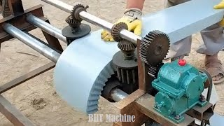 Innovative Mechanical Machinery I've Never Seen, Extremely Operating Factory Operation, Workers Work