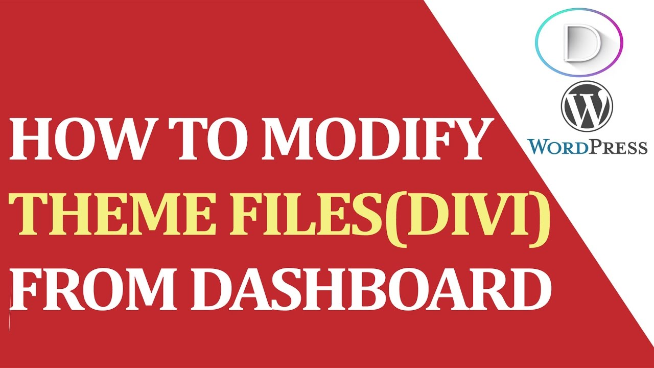 Designed by elegant themes powered by wordpress - How To Modify Theme Files Divi From Dashboard Of Wordpress