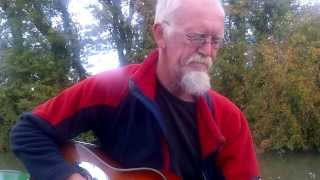 """Steady rolling train "" original,live and acoustic on the Ashby canal"