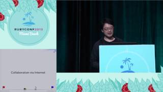 "Ruby Conf 2013 Living in the Fantasy Land by Yukihiro ""Matz"" Matsumoto"