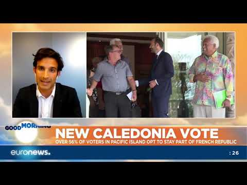 New Caledonia vote to stay part of French Republic