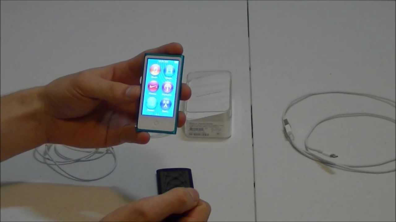 iPod Nano 7th Generation, Full Review - YouTube