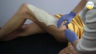 Паста для шугаринга OASIS в работе. Шугаринг ног.