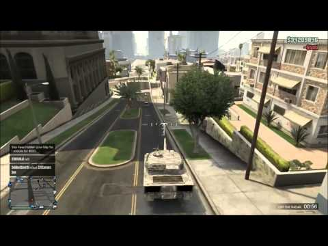 'GTA V Online' How to kill people in GOD mode - YouTube