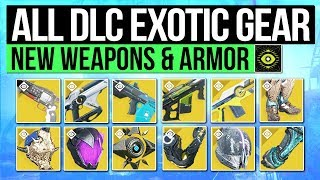Destiny 2 | ALL NEW EXOTIC WEAPONS & ARMOR! - Every Curse of Osiris Exotic & New Exotic Perks!